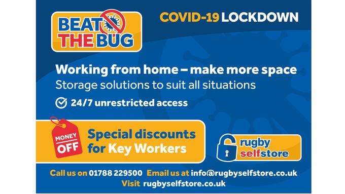 Beat the COVID Bug! Special Storage Discounts for Key Workers